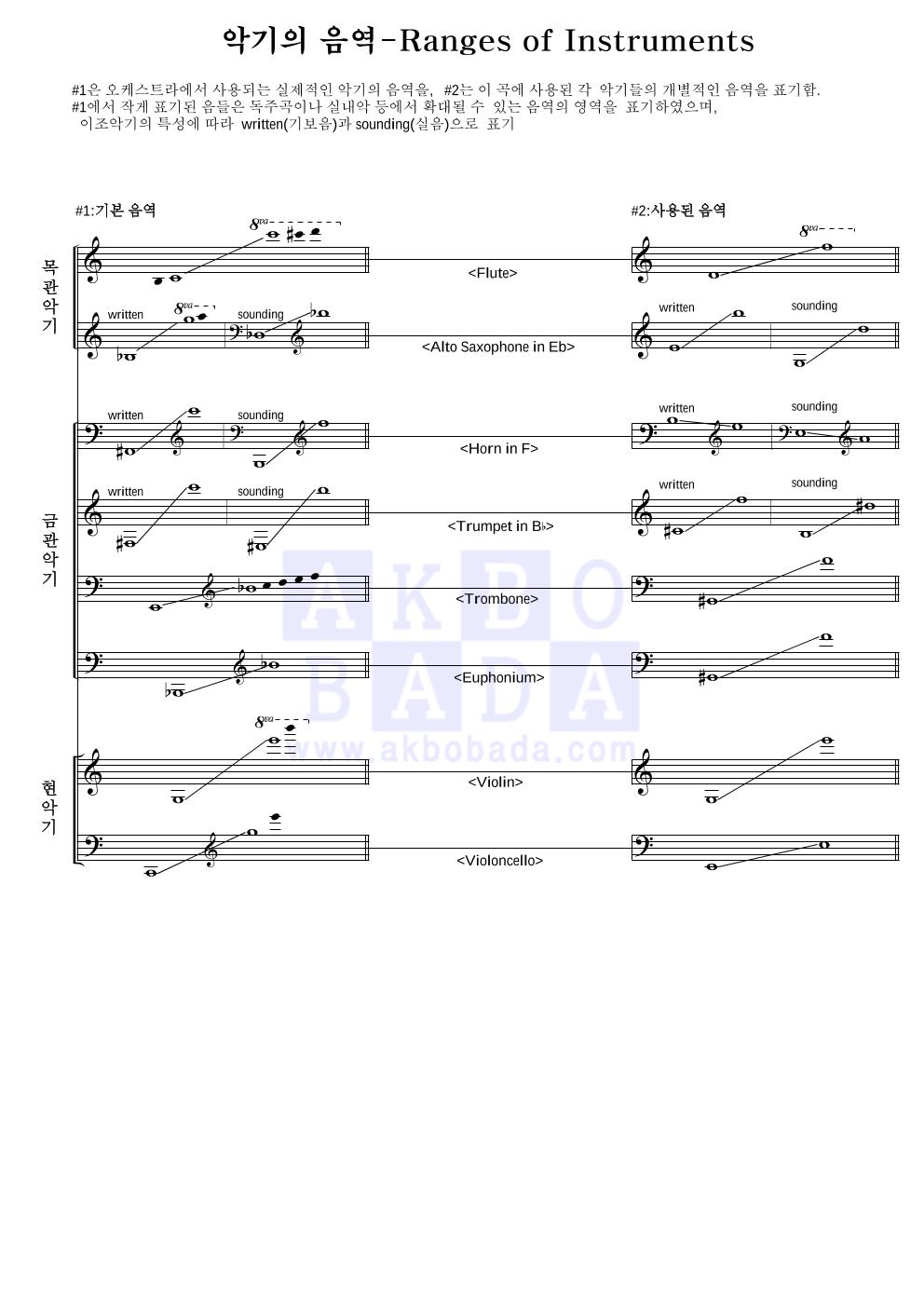 쇼스타코비치 - Waltz No.2 편성Ⅱ 악보